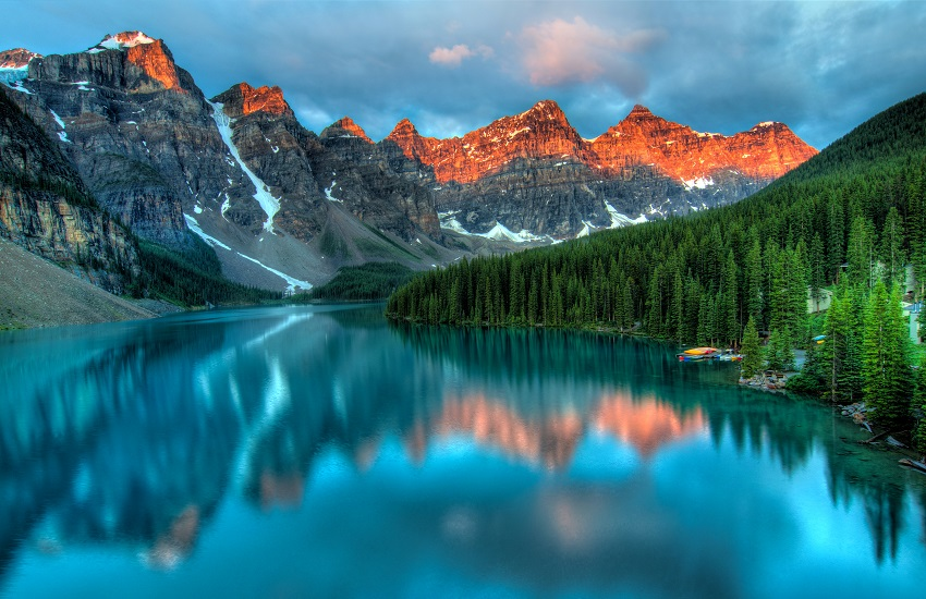 Banff Lakes And Mountains