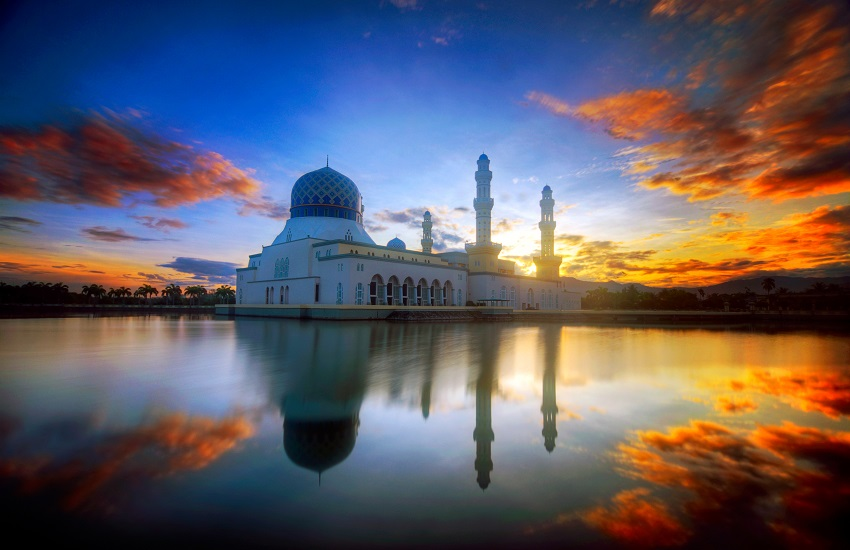 Borneo Kota Kimbalu Mosque