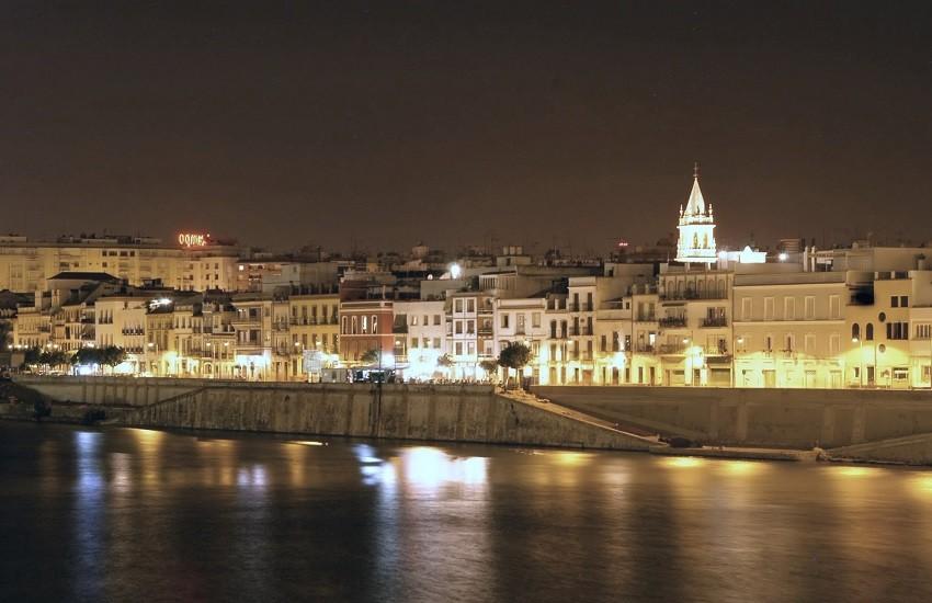 Seville Skyline Night