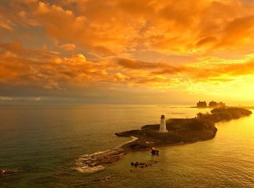 Bahamas Sun Set