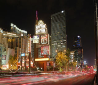 Las Vegas Strip: Image: Thinkstock.