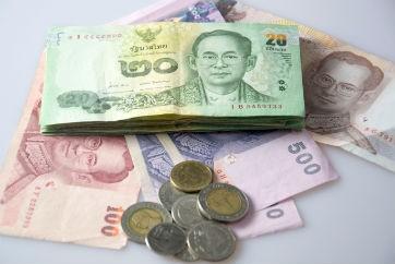 Thai baht credit Thinkstock/iStock