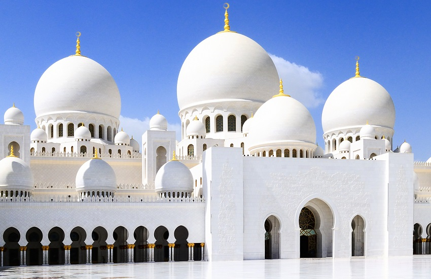Abu Dhabi White Mosque
