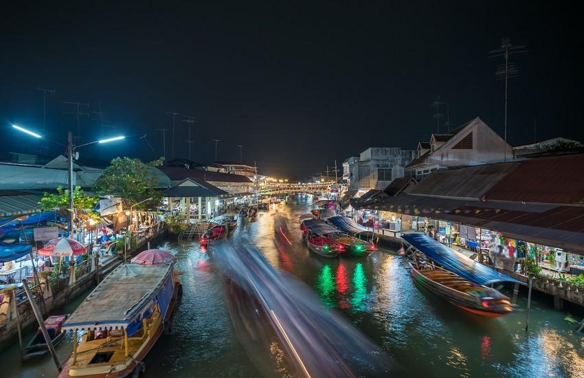 Bangkok Floating Market Thailand