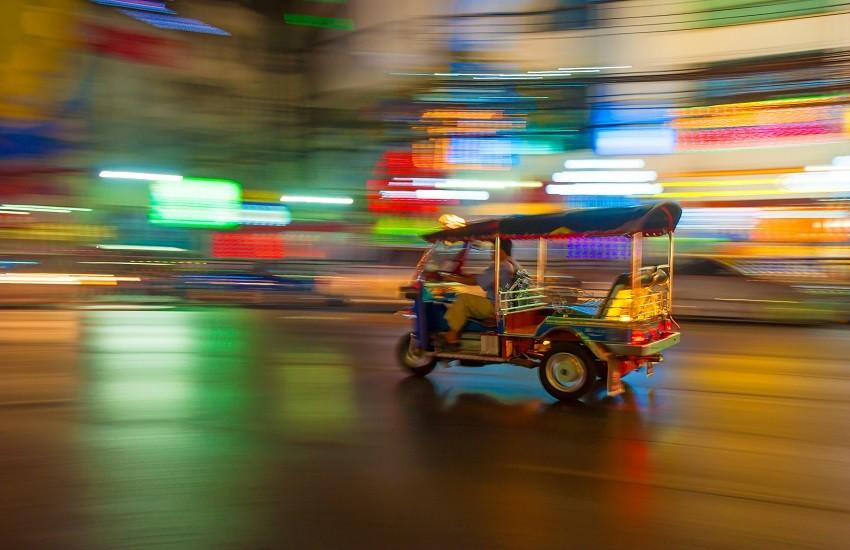Tuk-tuk Bangkok Thailand