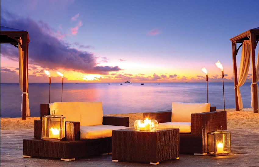 Beach Romantic Setting