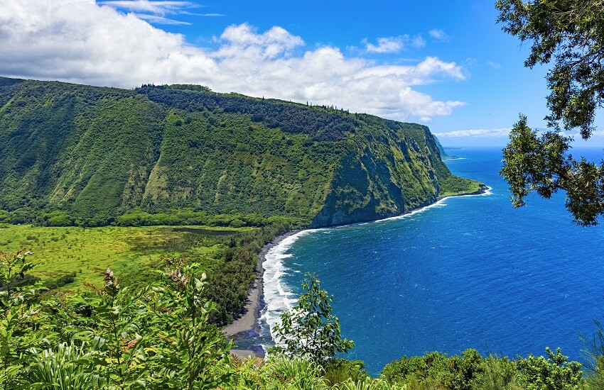 Waipio Valley Lookout Big Island Hawaii