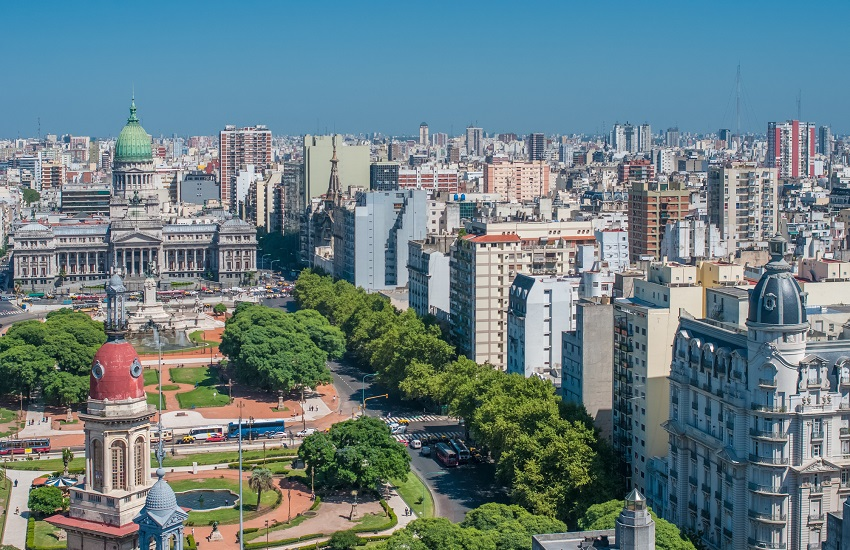Buenos Aires City View.