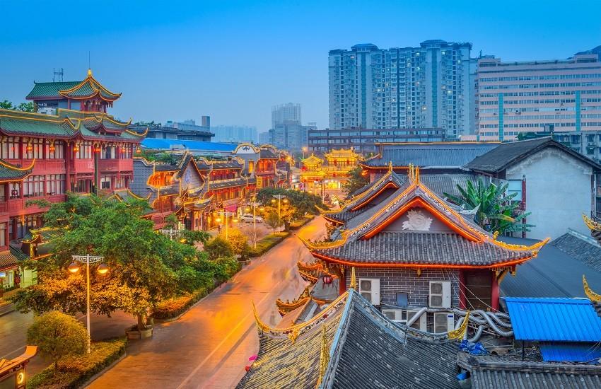 Chengdu Old Town