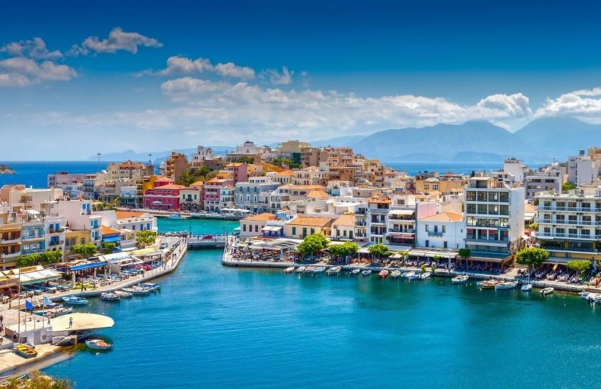 Crete Agios Nikolaos Harbour