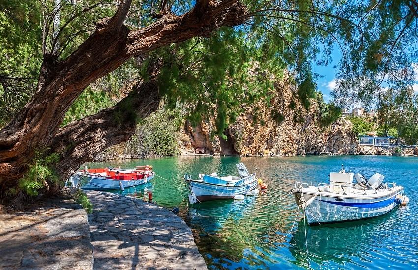 Lake Voulismeni Crete