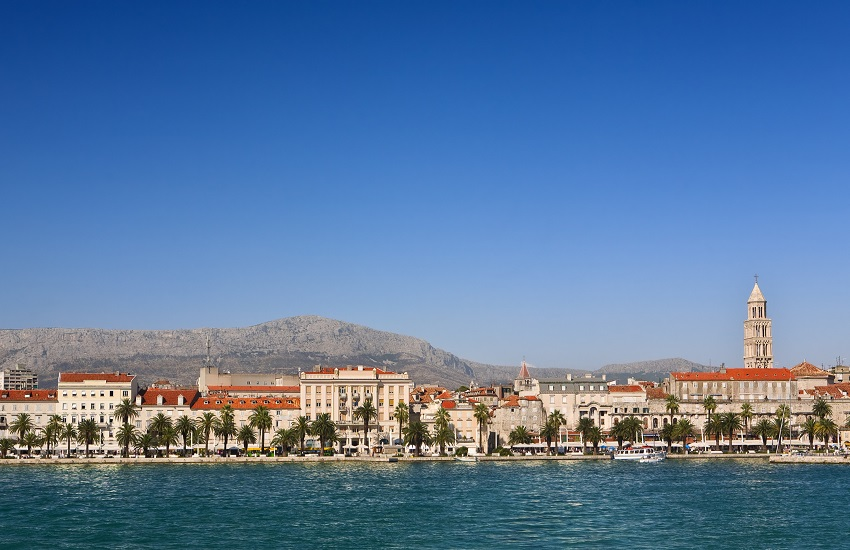 Croatia Split Coastline