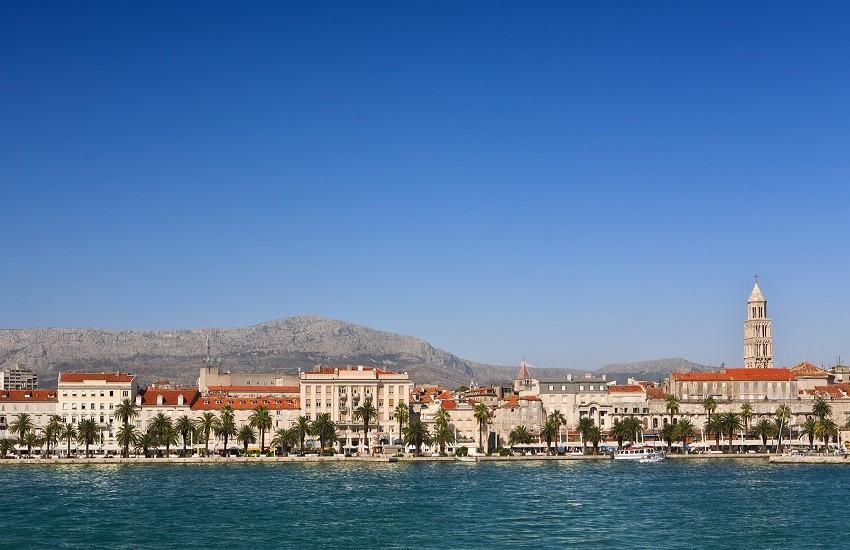 Croatia Split Coastline