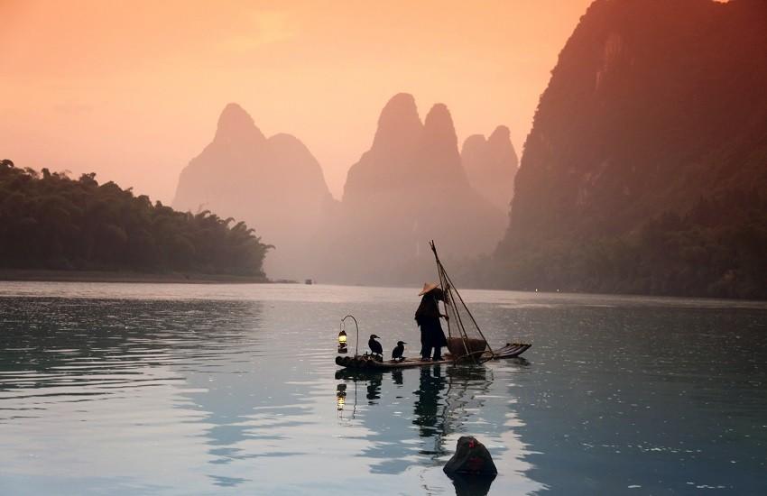 Guilin Yangshuo Fishing