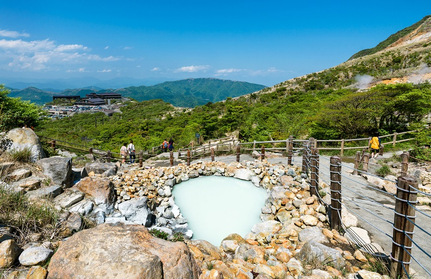 Hakone Owakudani Hot Springs