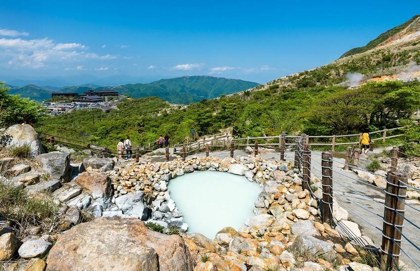 Hakone Owakudani Hot Springs