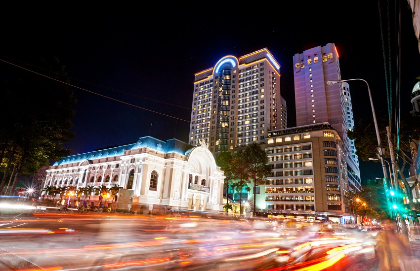 Ho Chi Minh Downtown