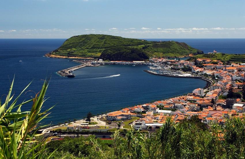 Horta Port Azores