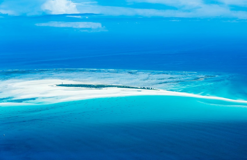 Hotel Island Aerial View