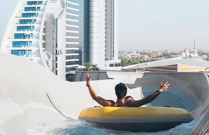 Hotel Water Slide