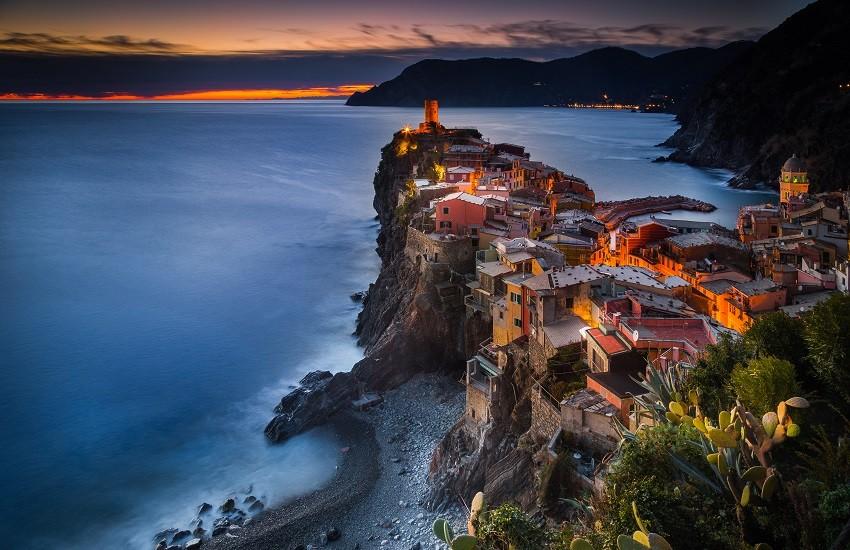Italian Riviera Vernazza