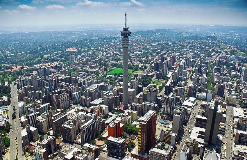 Johannesburg Aerial