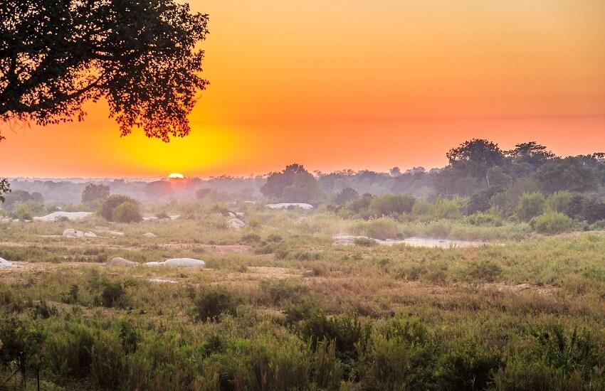 Sunrise in the Kruger Park