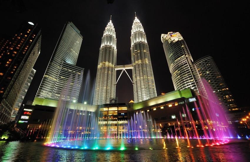 City skyline of Kuala Lumpur