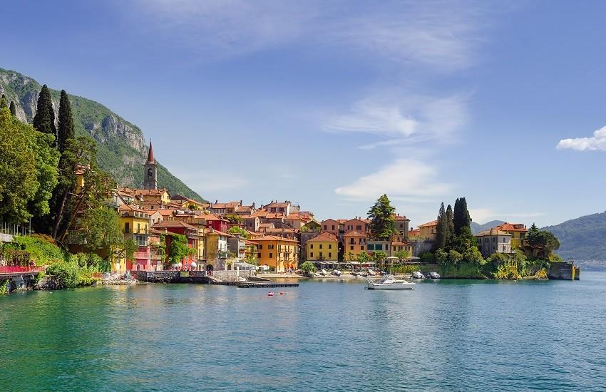 Varenna seen from Lake Como
