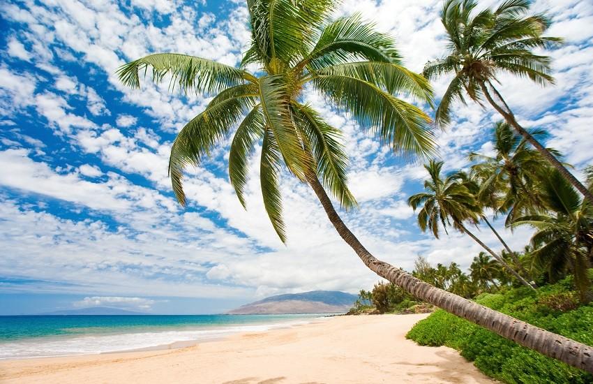 Maui Beach In South