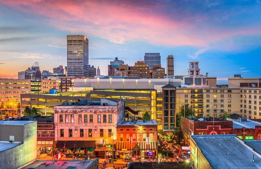 Memphis, Tennessee, USA Skyline