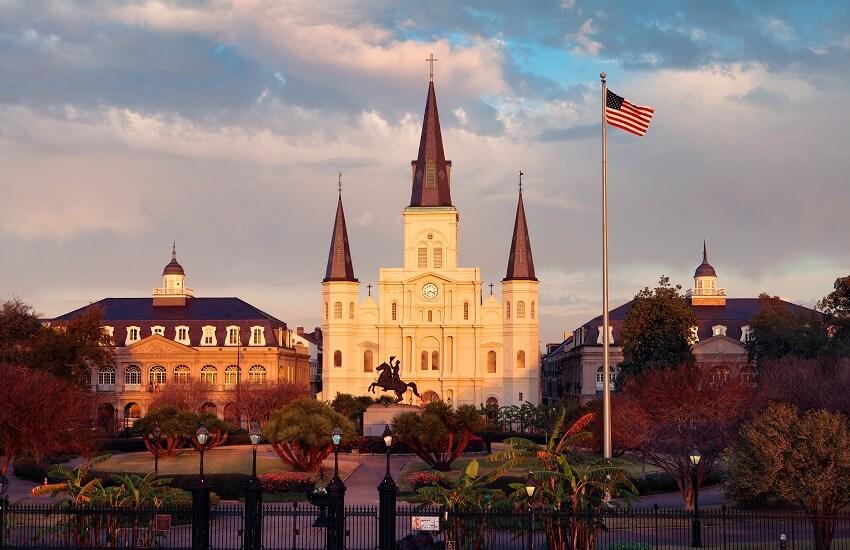 New Orleans Jackson Sq
