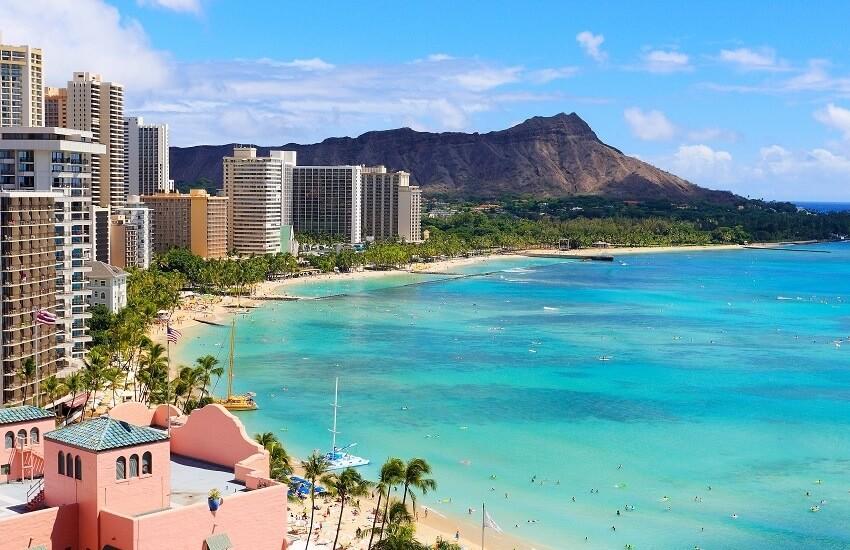 Oahu Waikiki Beach