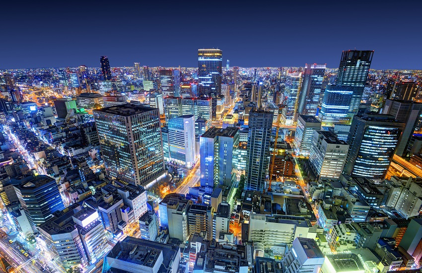 Osaka Japan City