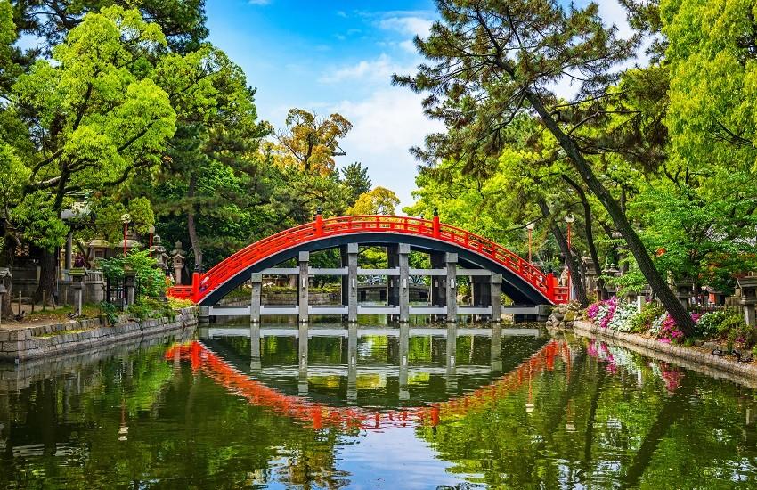 Sumiyoshi Taisha Grand Shrine