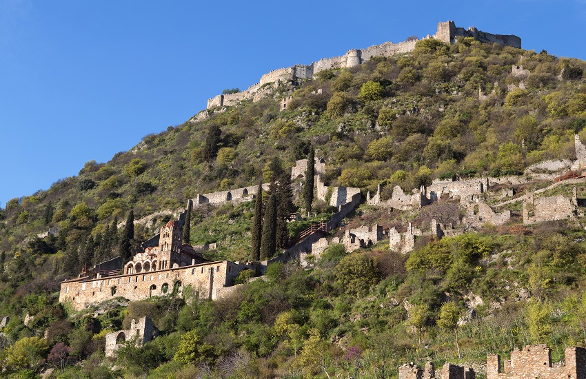 Peloponnese Castle Vilearduin