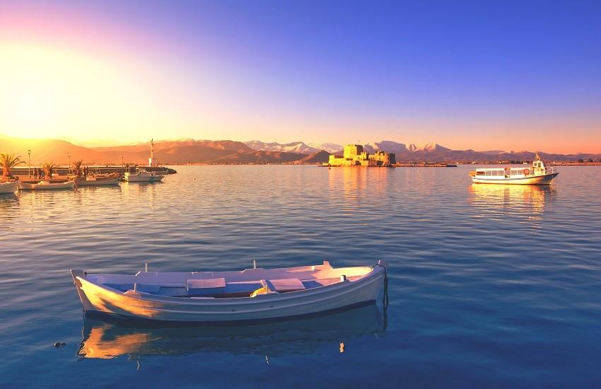 Peloponnese Nafplio Seaview