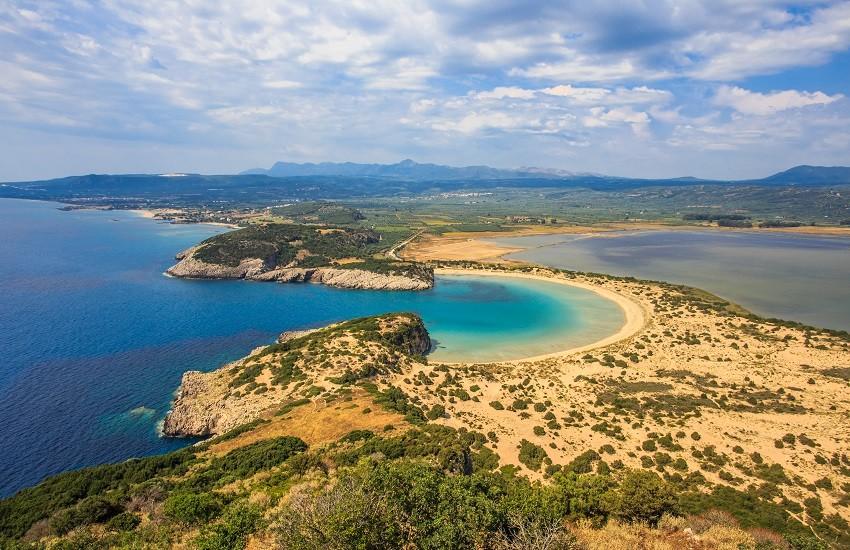 Peloponnese Voidokilia Lagoon