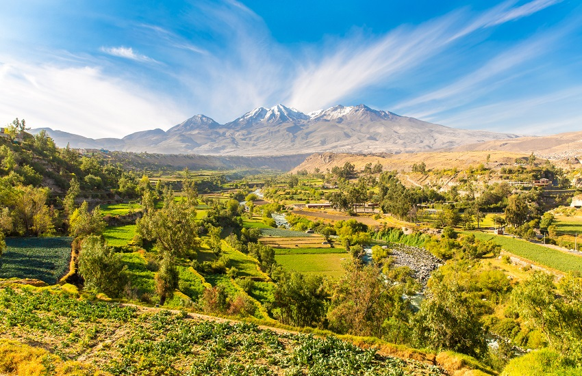 Peru Arequipa Landscape