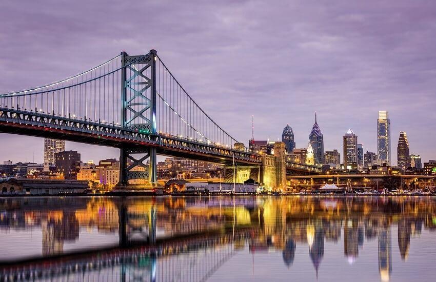 Philadelphia Benjamin Franklin Bridge