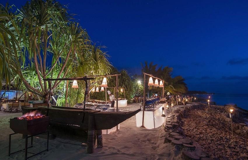Restaurant Beach BBQ