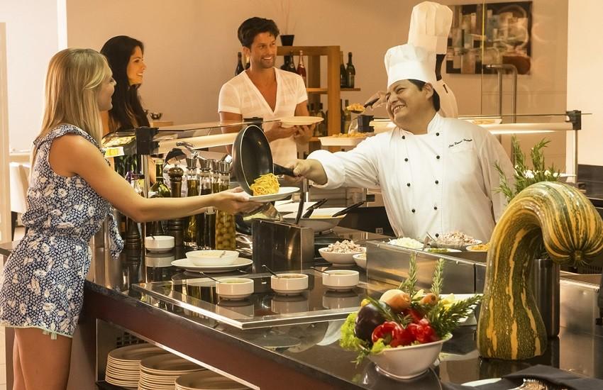 Restaurant Buffet Area