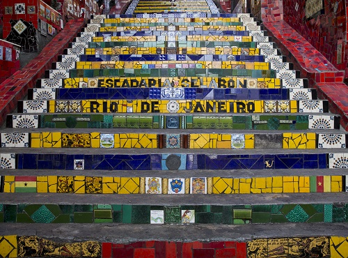 Rio Escadaria Selaron
