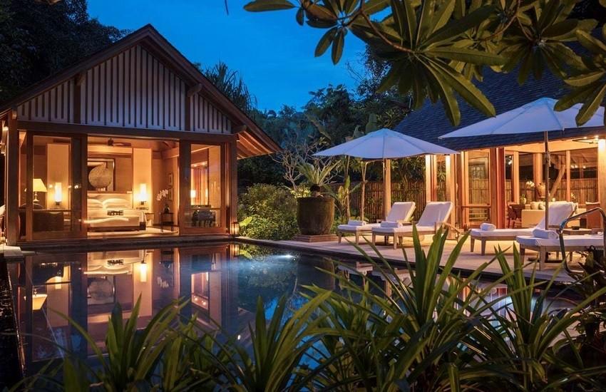 Room Beach Villa Night