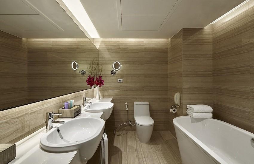 Room Deluxe Suite Bathroom