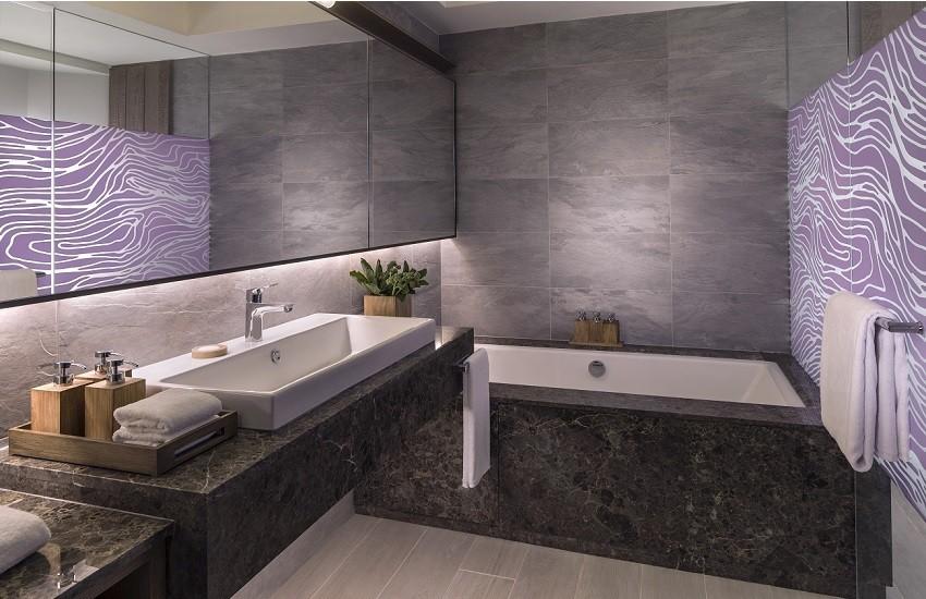 Room Hibiscus Deluxe Bathroom
