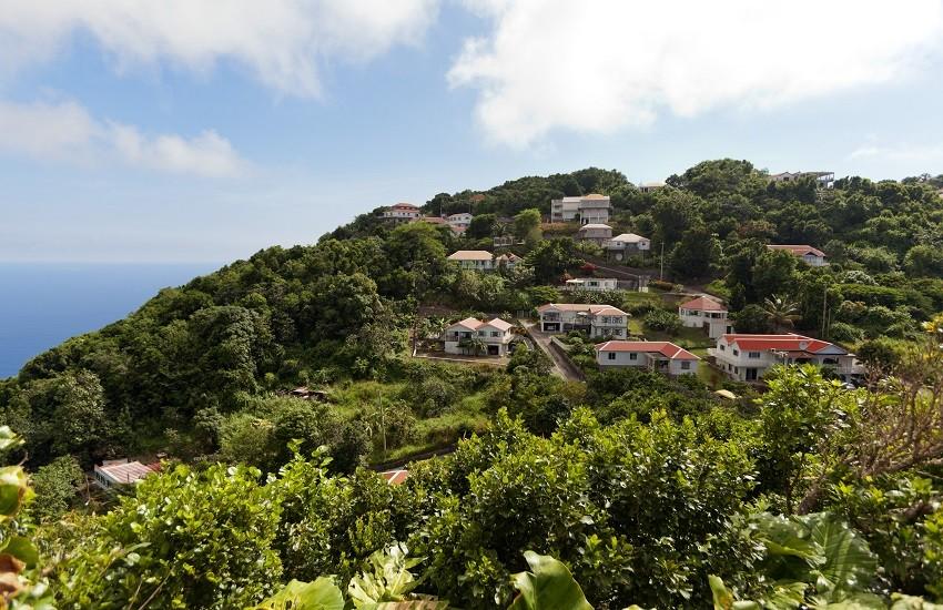 Saba Peak Hill Trail
