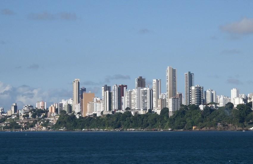Salvador De Bahia Skyline