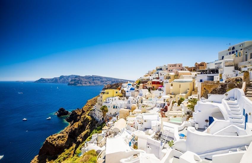 Santorini Oia Village