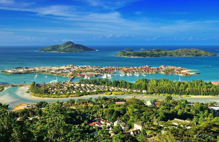 Seychelles Harbour Sky View